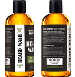 Beard Wash - Tea Tree + Peppermint - 4 oz