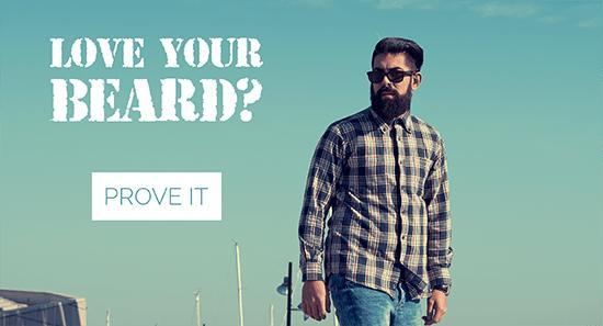 Love your beard? Prove it.