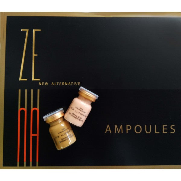 Zena BB glow, CC glow #23 + #25 color set - 10 ampoules /1 box