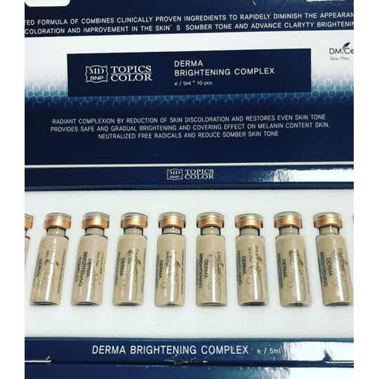DM.cell BB Mesowhite shimmer #21 - BB glow treatment - Brightening Meso ampoule