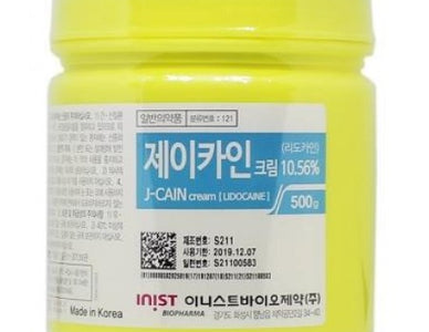 Anesthetic Cream J-Cain 500g
