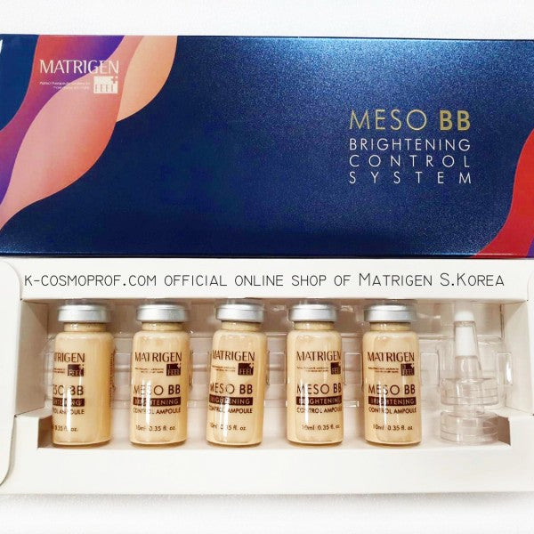 Matrigen BB glow Mesowhite treatment - Brightening Control System