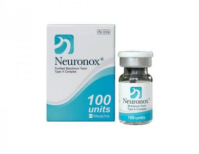 Neuronox 100 units (botulinum toxin) type A Medytox Inc. S.Korean