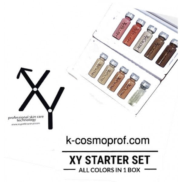 XY starter kit BB GLOW & BB BLUSH - XY BB Mesowhite set Korea 10*5ml