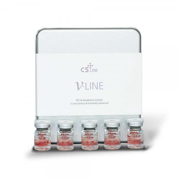 V-Line lipolysis for face and body CS Lab V Line with brightening effect.  use.