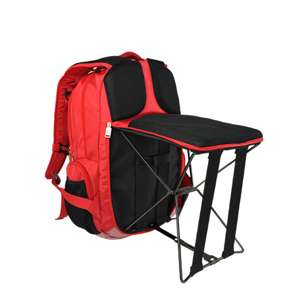 Backpack with Foldable Chair 2 In 1