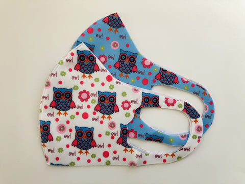 Children's Cloth Mask Reusable (2 Pieces)