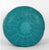 Natural Handmade Leather Pouf, Turquoise Pouf Moroccan Decor