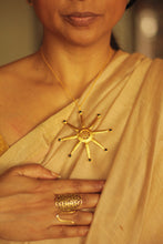 Load image into Gallery viewer, Sun Necklace- Gold Plated