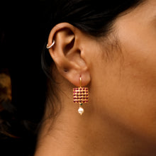 Load image into Gallery viewer, Chettinad Square Earrings