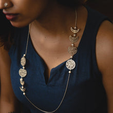 Load image into Gallery viewer, Phases Of The Moon Necklace : Diana :