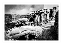 Load image into Gallery viewer, Museum grade print. Dowry in Olympos, Karpathos.