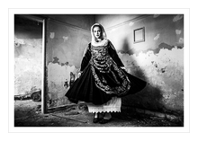 Load image into Gallery viewer, Museum grade print. Bridal costume of Salamina.