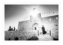 Load image into Gallery viewer, Museum grade print. Priest in Profitis Elias, Sifnos.