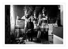 Load image into Gallery viewer, Museum grade print. Beekeepers, Kotsamania of Tetralofos, Kozani.