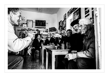Load image into Gallery viewer, Cafe in Olympos, Karpathos, Dodecanese, Greece