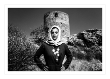 Load image into Gallery viewer, Museum grade print. Castle, Kalymnos.