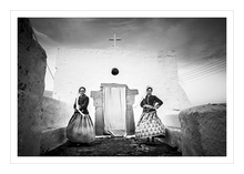 Load image into Gallery viewer, Museum grade print. Spinning in Patmos, Dodecanese.