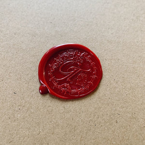 Limited edition unique wax seal