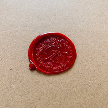 Load image into Gallery viewer, Unique wax seal for limited edition prints by photographer George Tatakis
