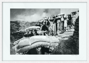 Limited Edition numbered and signed. Dowry transportation, Olympos, Karpathos, Dodecanese.
