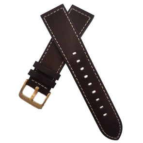 Reddish Brown  Leather Strap