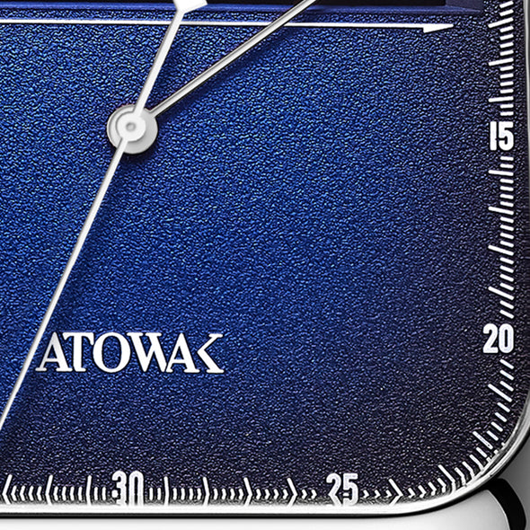 Atowak Windows Blue Dial Classic Man's Automatic Watch