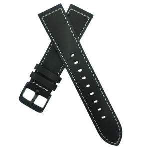 Greyish-Green Leather Strap
