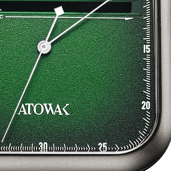 Atowak Windows Green Dial Classic Man's Automatic Watch