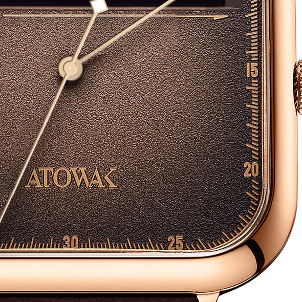 Atowak Windows Brown Dial Classic Man's Automatic Watch
