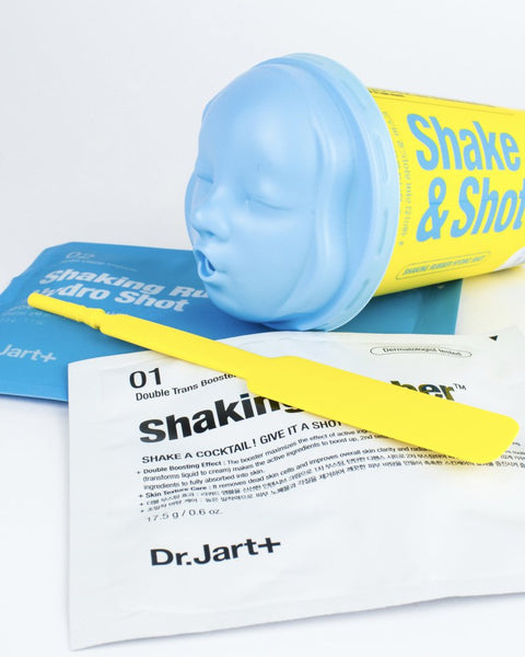 Shake & Shot Rubber Masks - Hydro Shot