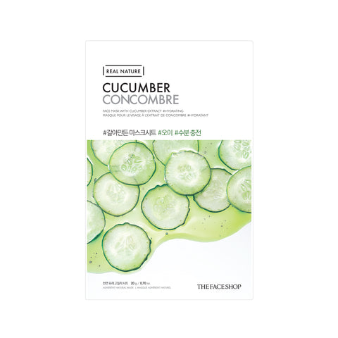 Real Nature Cucumber Mask