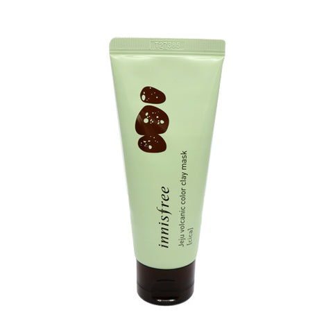 Jeju volcanic color clay mask - Green Cica