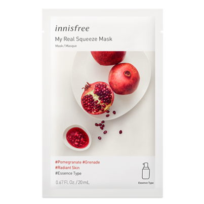My Real Squeeze Mask - Pomegranate