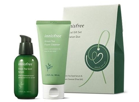 Green Tea Hydration Duo Set