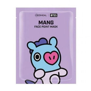 BT21 Mang Face Point Mask