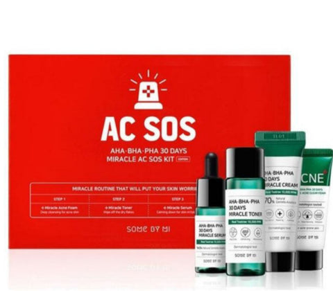 AHA.BHA.PHA 30 Days Miracle AC SOS Kit
