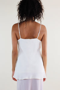 Dove Double Lined Silk Cami
