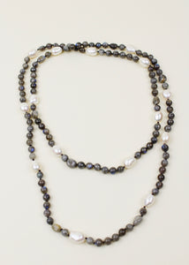 Labradorite Bead Necklace