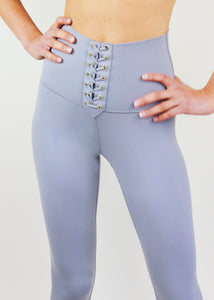High Rise Lace-Up Legging