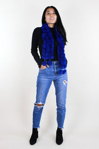 Coney Fur Bobble Scarf