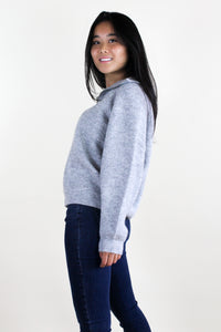 Campbell Light Grey Sweater