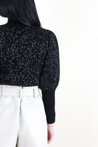 Yara Contrast Stitch Long Sleeve