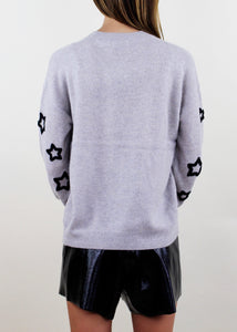 Cosme Pullover Crew with Embroidery