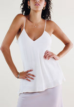 Load image into Gallery viewer, Dove Double Lined Silk Cami