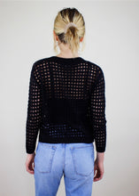 Load image into Gallery viewer, Delilah Cardigan Black