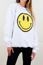 Load image into Gallery viewer, Happy Face Crew Neck Sweatshirt