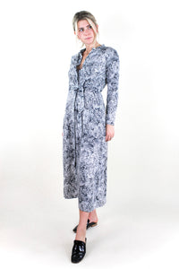 Maxi Shirt Dress Moon Stone Snake