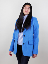 Load image into Gallery viewer, Blue Corduroy Blazer