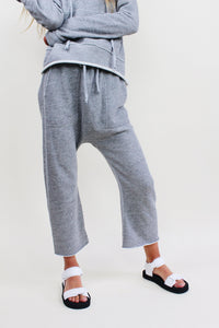 Sweatpant in Heather Grey